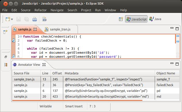 TAE-JS: Transparent Automated Enhancement for JavaScript